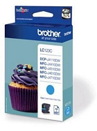 Brother LC123C cartouche d'encre cyan  (original)